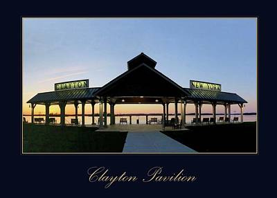Photograph - Clayton Pavilion by Dennis McCarthy