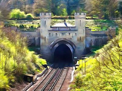 Photograph - Clayton Tunnel In Sussex England by Dorothy Berry-Lound