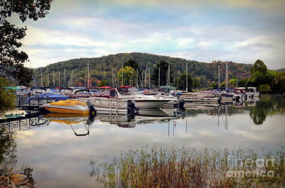 Photograph - Claytor Lake Marina by Kerri Farley