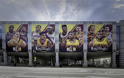 Kyrie Photograph - Cle All In by Michael Rankin