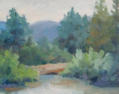 Painting - Cle Elum by Marlene Kingman