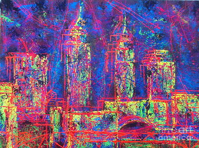 Painting - Cle Jazz by JoAnn DePolo