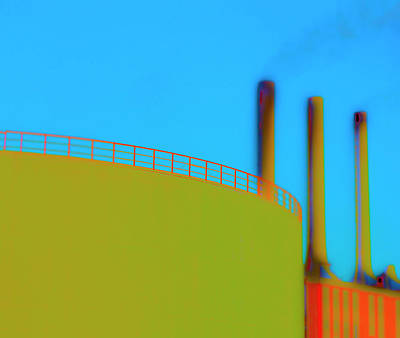 Clean Pipes Art Print by Jan W Faul