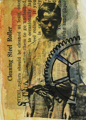 Mixed Media - Cleaner by Edith Hardaway