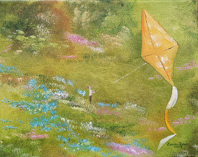 Painting - Clear Air Flight by Judith Rhue
