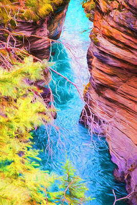 Photograph - Clear Alpine Water by Judy Wright Lott