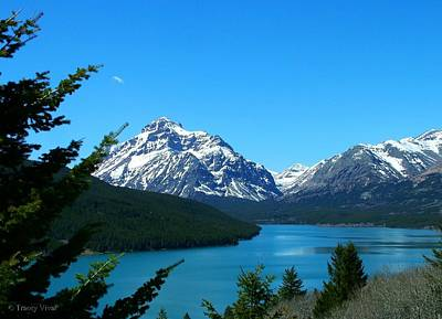 Clear Blue Lower Two Med Lake Art Print