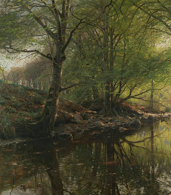 Painting - Clear Brook by Peder Monsted