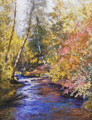 Clear Creek Art Print by Jan Hardenburger