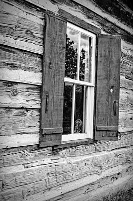 Photograph - Clear Creek Log Cabin by Ann Powell