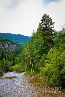 Clear Creek Water Original by Jon Burch Photography