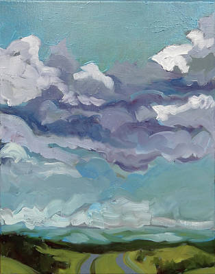 Painting - Clear Day by Laura Wilson