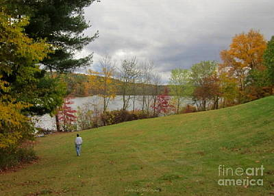 Photograph - Clear Fork Dam by Kathie Chicoine