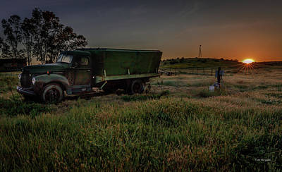 Photograph - Clear Morning Sunrise by Tim Bryan