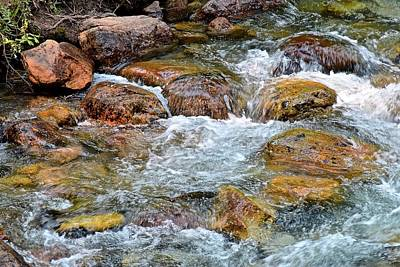 Photograph - Clear Mountain Stream by Frozen in Time Fine Art Photography