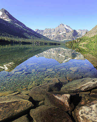 Photograph - Clear Mountain Water by Jack Bell