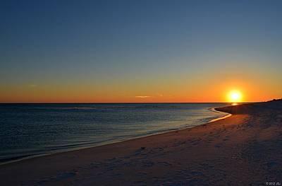 Photograph - 0211 Clear Opal Beach Sunset by Jeff at JSJ Photography