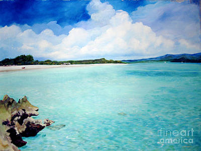 Painting - Clear Open Water by Nancy Isbell