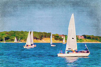Photograph - Clear Sailing by Cathy Kovarik