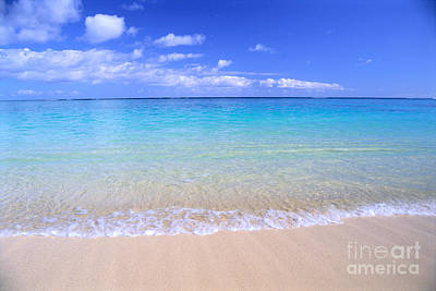 Photograph - Clear Shoreline by Bill Brennan - Printscapes