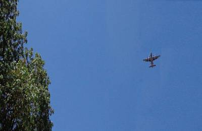 Photograph - Clear Sky C130 Airplane by Mozelle Beigel Martin
