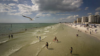 Clear Water Beach Original by Patrick Ziegler