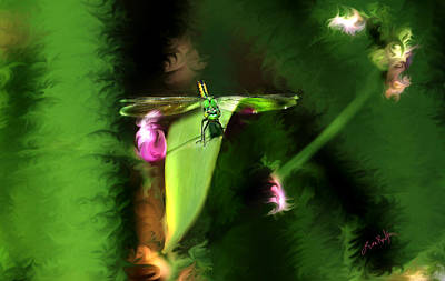 Digital Art - Cleared For Take Off by Lisa Redfern
