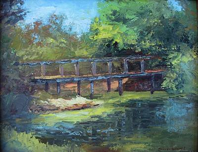 Painting - Clearfork Bridge by Sharon Weaver