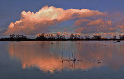 Clearing After A Storm Art Print by Floyd Hopper