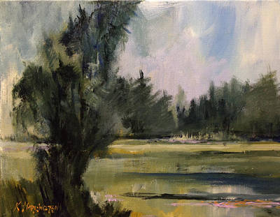 Painting - Clearing After The Rain by Kathleen Harrington