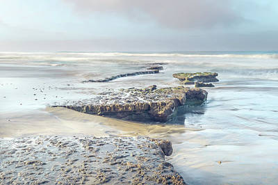 Photograph - Clearing Fog At Tabletop Reef by Alexander Kunz