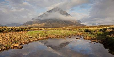 Photograph - Clearing Mist On The Buachaille by Stephen Taylor