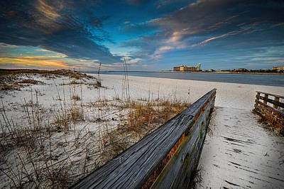 Photograph - Clearing Skies At Gulf State Park Perdido Pass, Orange Beach, Al by Michael Thomas