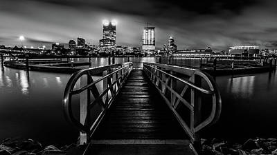 Photograph - Clearing Skies In Milwaukee Monochrome by Randy Scherkenbach