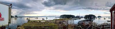 Photograph - Clearing Skies Over Sheepscot Bay, Georgetown, Maine by John Bald
