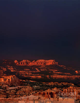 Photograph - Clearing Storm And Rainbow Pver Bryce Canyon National Park Utah by Dave Welling