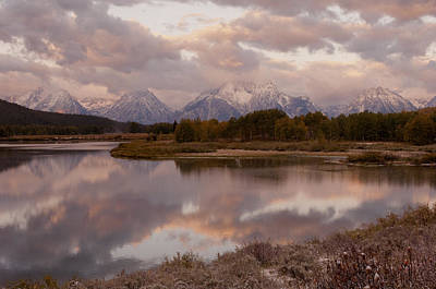 Photograph - Clearing Storm At Oxbow Bend by Sandra Bronstein