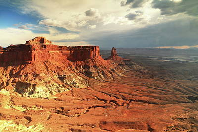 Photograph - Clearing Storm Canyonlands National Park by Roupen  Baker