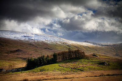 Photograph - Clearing Storm, Moel Siabod by Peter OReilly