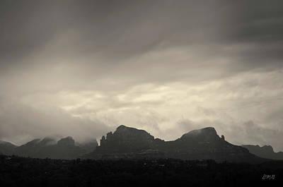 Photograph - Clearing Storm Sedona Az Toned by David Gordon