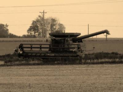 Photograph - Clearing The Fields by Kyle West