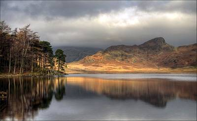 Clearing Weather At Blea Tarn Art Print by Terry Roberts Photography