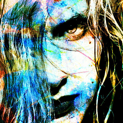 Beautiful Mixed Media - Clearing...abstract New Mixed Media Portrait By Rich Ray Art by Rich Ray Art