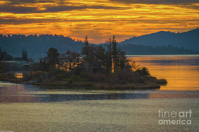 Clearlake Photograph - Clearlake Gold by Mitch Shindelbower