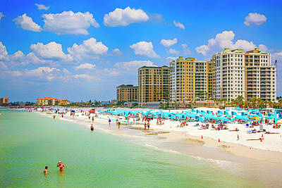 Polaroid Camera - Clearwater Beach, FL by Chris Smith