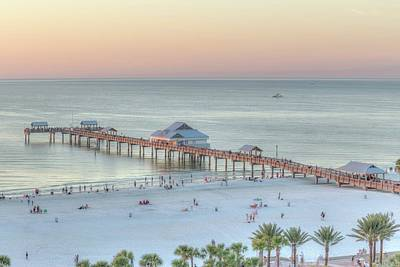 Photograph - Clearwater Beach by Paul Schultz