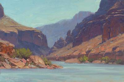River Rafting Painting - Clearwater by Cody DeLong