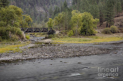 Photograph - Clearwater Crossing by Idaho Scenic Images Linda Lantzy