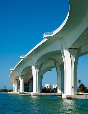 Photograph - Clearwater Memorial Causeway by David Smith