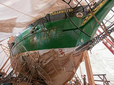 Photograph - Clearwater Restoration by Steve Sahm